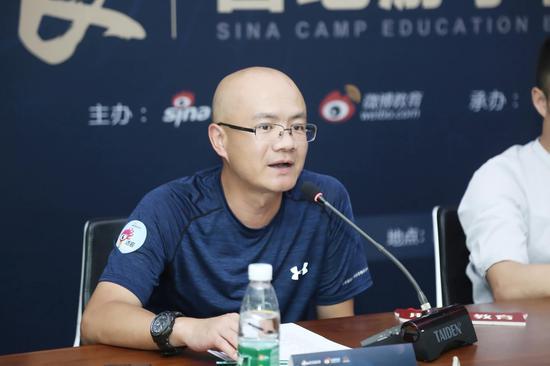 游美国际营地创始人、CEO 李璟晖