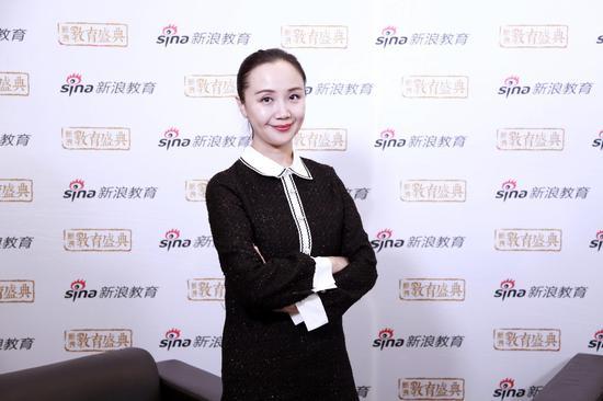 贝乐教育集团CEO 冯菲