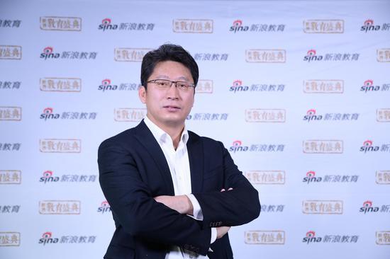 蓝莓果教育的加盟事业部总经理 黄天鹏