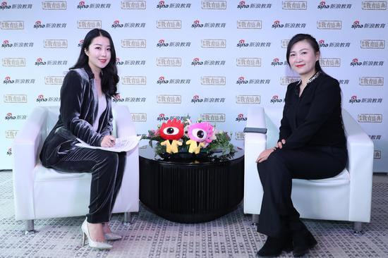 松鼠AI智适应教育全国校区事业部副总经理 杨燕丽