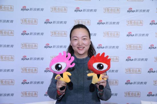 第一摩码教育CEO 王晶丽
