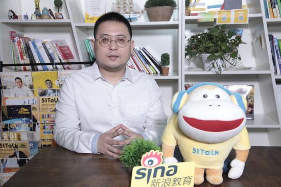 51Talk创始人兼CEO 黄佳佳