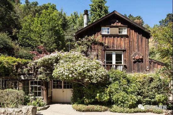 大苏尔还有地杰,一家列入《美国国家史迹名录》的1930年代小旅馆。