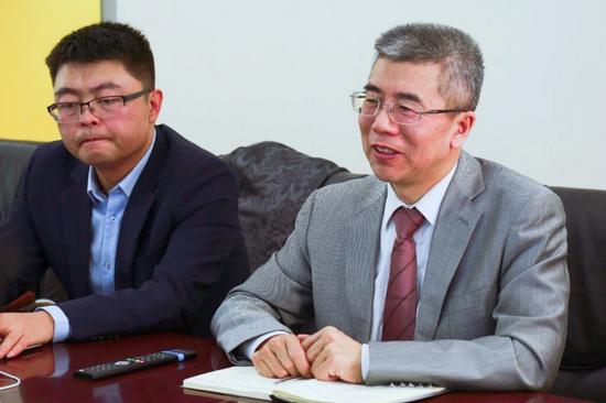 金吉列留学董事长兼总裁朱燕民先生讲话