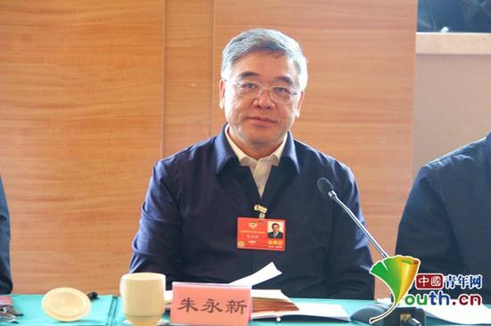 全国政协委员、民进中央副主席朱永新。 中国青年网 图