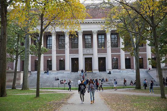 图源哈佛大学官网