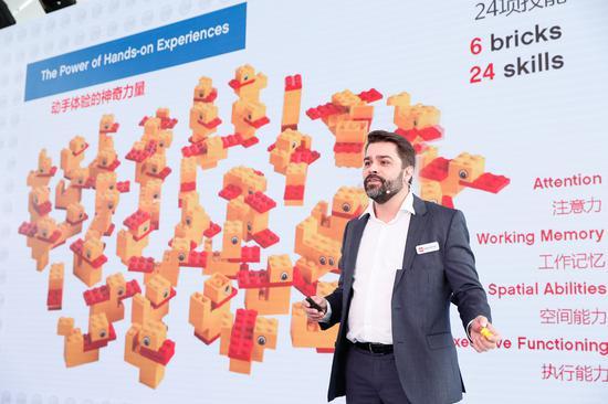 乐高教育全球总裁姚思鹏(Esben Strk Jrgensen)先生发布全球学习信心调研中国地区数据