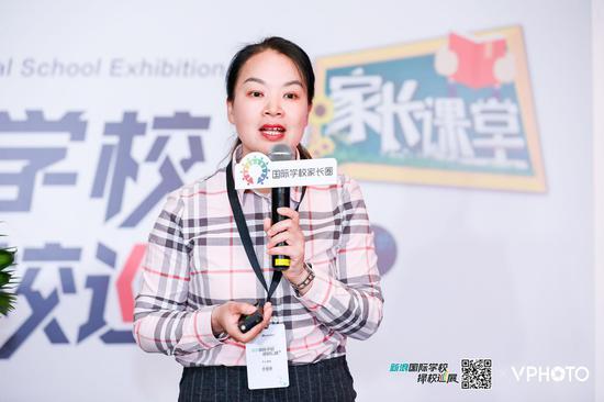 上海新纪元双语学校招生办主任朱虎兰