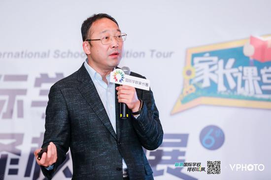上海世外教育集团总裁 徐俭