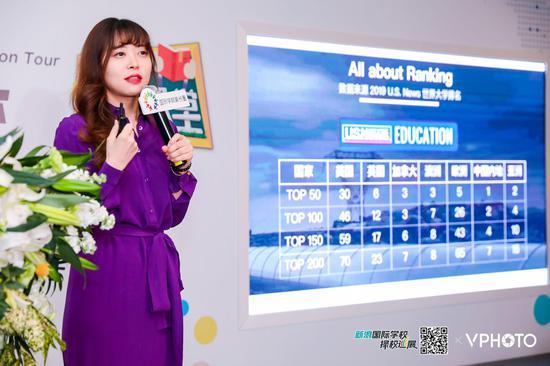北京新东方学校北美项目部高级主管 王梅
