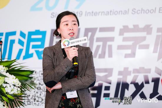 上海交通大学继续教育学院A-level国际课程中心主任慎安娜