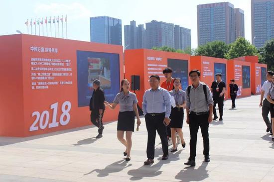 津桥国际董事长赵鹏参观考察产业园