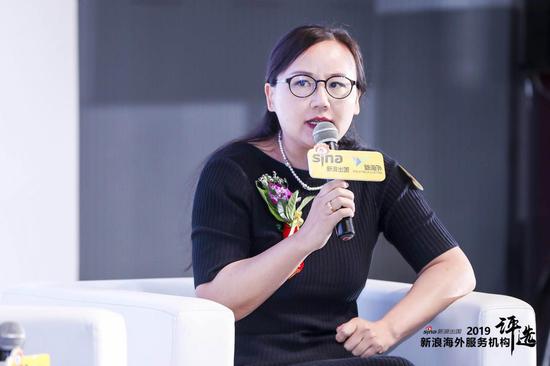 慧侨移民集团总经理 杨海若