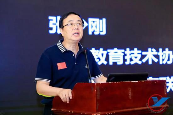 中国教育技术协会常务副会长、虚拟现实教育联盟秘书长张少刚