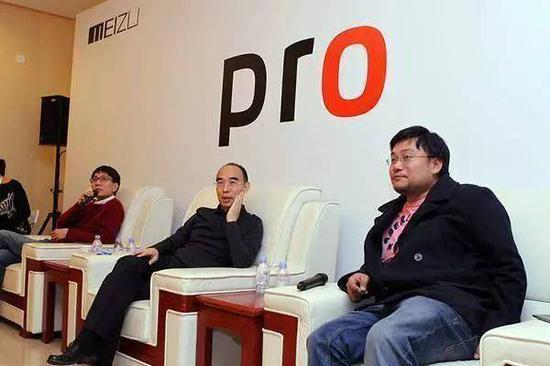 照片中从左至右分别是杨颜、白永祥、李楠