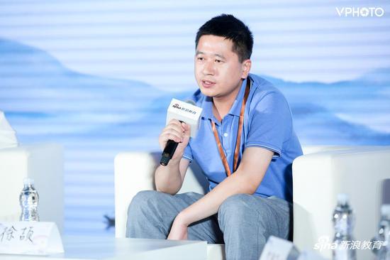 中华思源工程扶贫基金会宣传部长徐颉