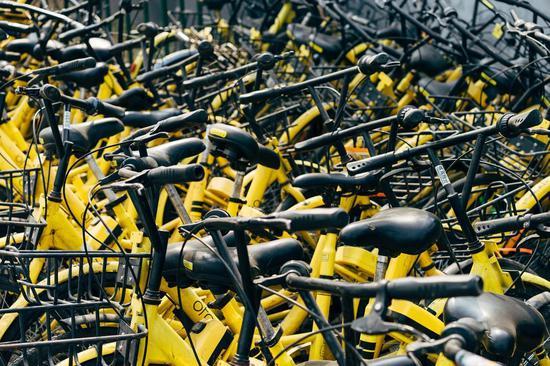 共享背后,是老单车的新出路。/unsplash