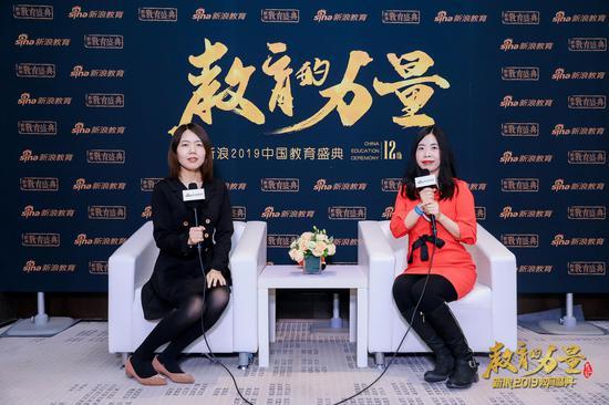 2019新浪教育盛典访谈:纳豆之家陈春红