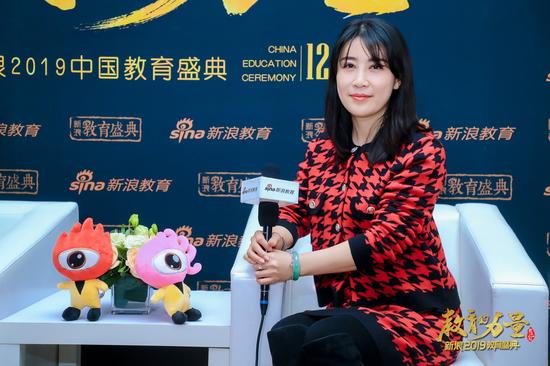 2019新浪教育盛典访谈:北外附校
