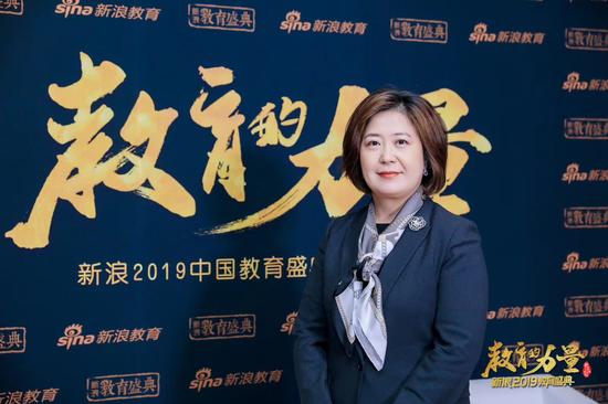 2019新浪教育盛典访谈:金征远皇