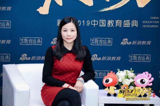 2019新浪教育盛典访谈:快乐魔方徐丽镇