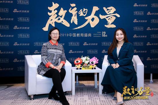 2019新浪教育盛典访谈:金色雨林孟琳