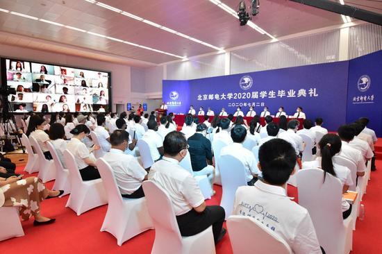 北京邮电大学举行2020届学生毕业典礼