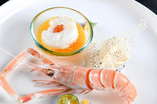 松露雙味海鰲蝦