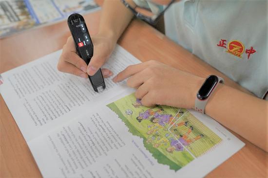 全国百强河北正定中学引入AI学习标杆硬件有道词典笔