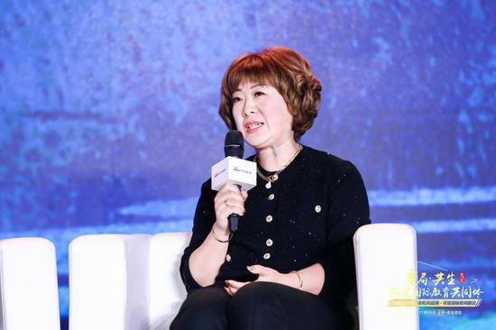 图文:北京哈罗英国学校中方校长赵新出席教育盛典