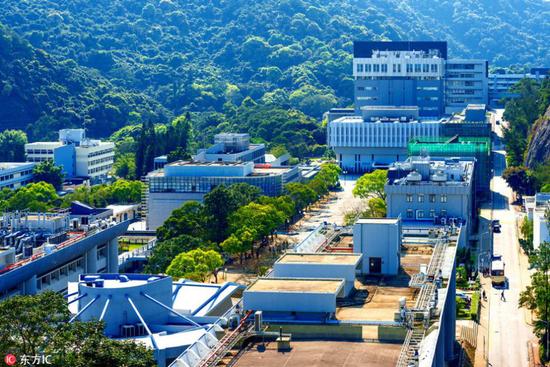 香港中文大学。(图片来源:东方IC)