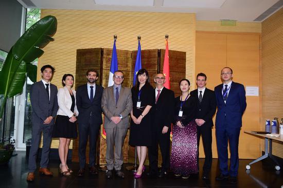 (中国高科集团与法国驻华大使馆文化教育合作处签署合作备忘录)
