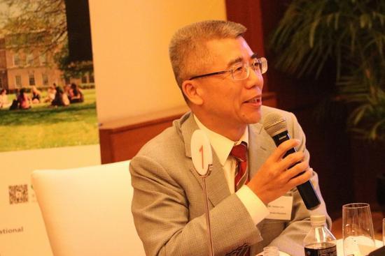 金吉列朱燕民:留学机构要有底线和责任心
