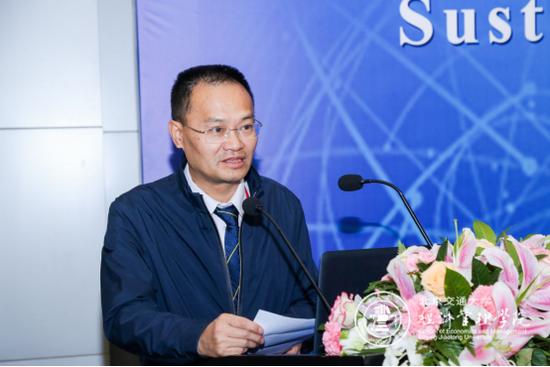 交通运输部科研研究院副院长王先进先生致辞