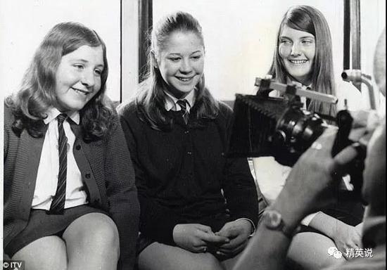 14岁的Jackie, Sue, Lynn