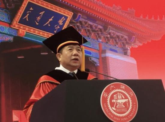上海交通大学校长 林忠钦