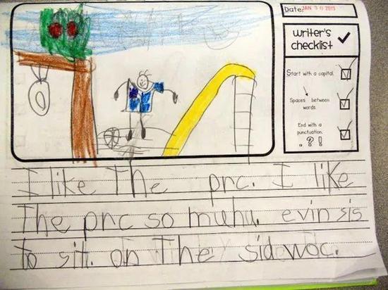"""美国老师的写作训练 孩子的兴趣靠""""胡""""写培养"""
