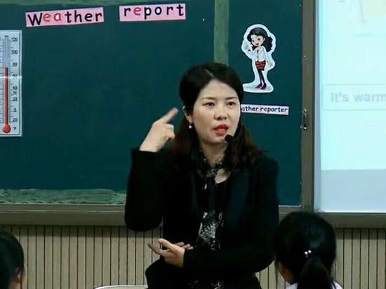 成都七中初中附属小学英语教师敬萱