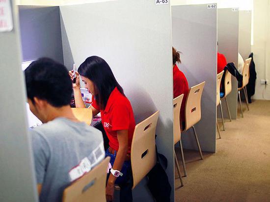 在IDEA学院,一对一教室变成开放式。 图片来源:ideaeducation