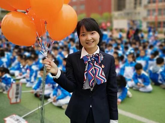 正能量班主任:西安高新第二学校班主任张丹丹