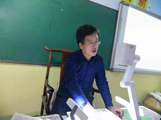 河北省张家口市张北镇中心小学校长杨林