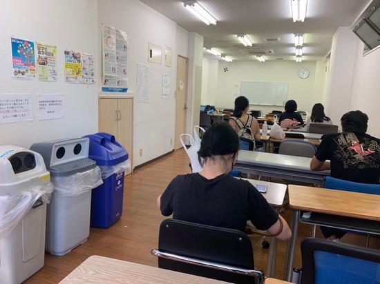 新宿校区自习室
