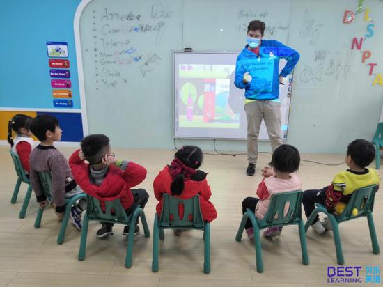 贝乐英语扎实教好每一堂课 落实英语启蒙每一个细节