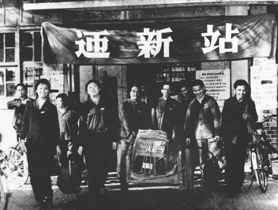 ▲1978年春,北京大学迎来恢复高考后录取的第一批新生。(新华社发)
