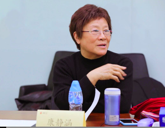 北京市小語學會副理事長、中國寫作學會中小學寫作教學專業委員會副理事長康靜涵女士