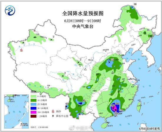 图来自中国天气网