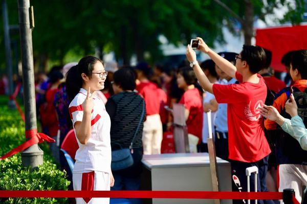 高清大图:2019北京考生