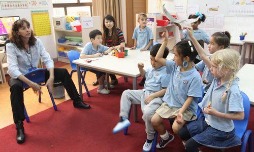 某國際學校課堂(圖片來源于網絡)