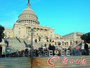 中国学生人数连续六年在美国国际学生中保持第一位。李琼 摄