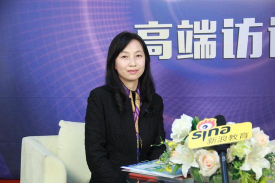 盖伦国际教育连锁总部董事长兼总裁林叶蓁